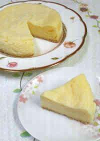 Microwaved Time-Saving NY Cheesecake with Pancake Mix