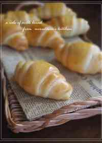 Milky Butter Rolls With Condensed Milk