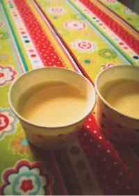 Custard Pudding Made with Gelatin