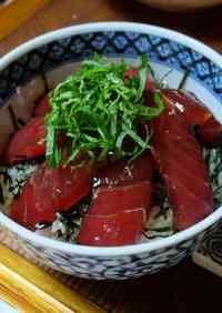 Restaurant Style Marinated Tuna for Rice Bowls