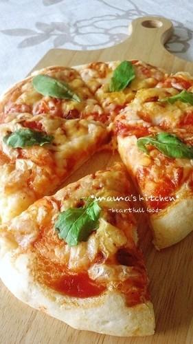 Simple, Crisp & Soft No-Rise 20-Minute Pizza