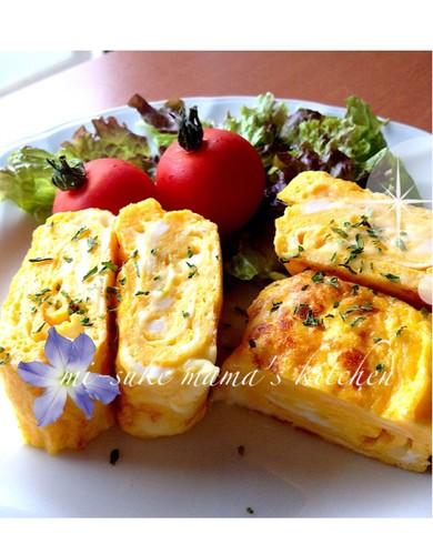 Simple Mayo-Cheese Tamagoyaki