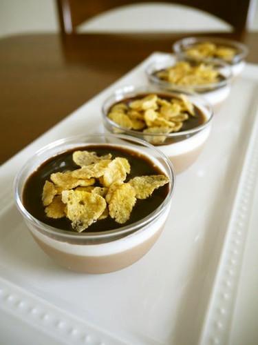 Cold Dessert Chocolate Bavarois