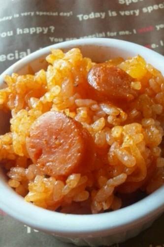 Nostalgic Café-Style Ketchup Rice