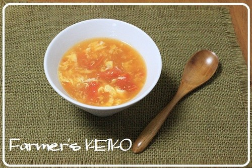 【A Farmer's Recipe】 Tomato Hot and Sour Soup