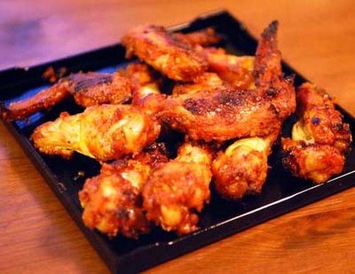 Korean Style Spicy Oven Baked Chicken Wings