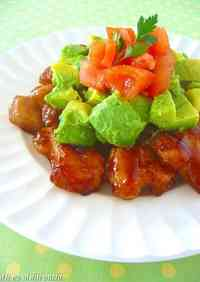 Chicken with Thick Sweet and Sour Sauce