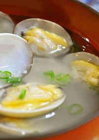 Umami-Rich Manila Clam Miso Soup