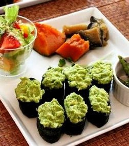 Simple Avocado Sushi (Perfect for Potlucks)