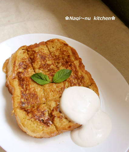 Cafe Latte French Toast