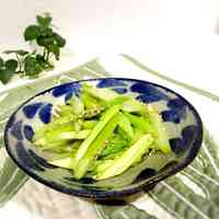 Easy in the Microwave Asparagus Namul (Korean-style Salad)