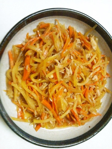 Papaya Stir-Fry