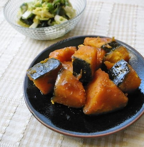 For Flavor-Boosting, Stir-Fry First! Stewed Kabocha Squash