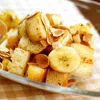 Caramel Banana Toast in 5 Minutes