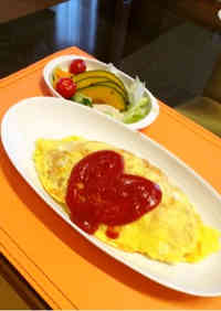Easy Ketchup Rice (for Omurice) in a Rice Cooker