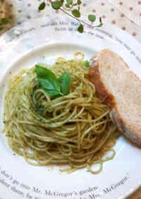 Simple Spaghetti Genovese