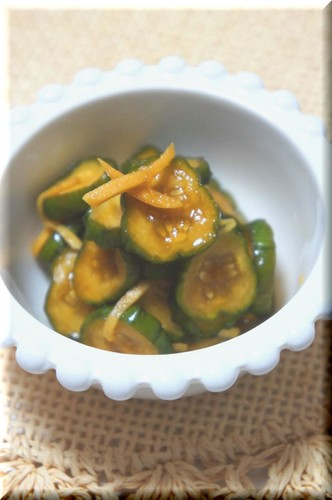 Pickled Cucumbers (Quick-Prep Microwave Version)