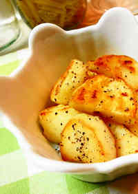 For a Side Dish Potatoes Fried in Butter
