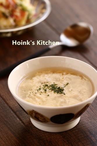 Potato Broth Egg Soup