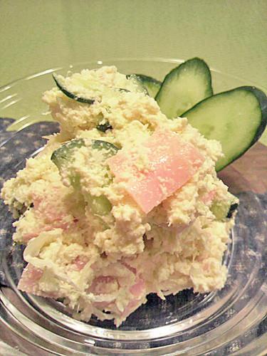 Simple & Healthy Okara Salad