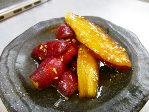 Candied Sweet Potatoes in 10 Minutes