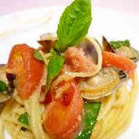 Chilled Pasta alle Vongole with Tarako