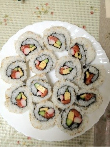 Amazingly Delicious California Rolls