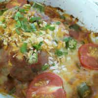 Tomato Sauce Simmered Hamburger Gratin