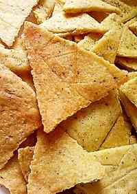 Non-fried Cornmeal Chips