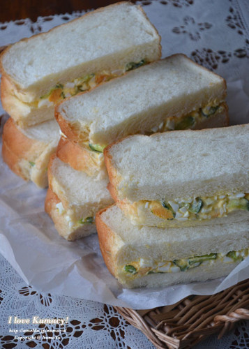 Our Family's Cucumber and Egg Sandwiches