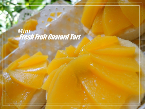 Fresh Fruit and Rich Custard Tart