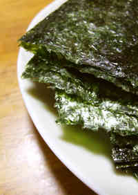 With a Little Effort Korean-Style Sushi Seaweed for Hand Rolls