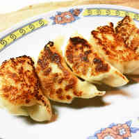 Chicken Gyoza with Shiso & Shio-Koji