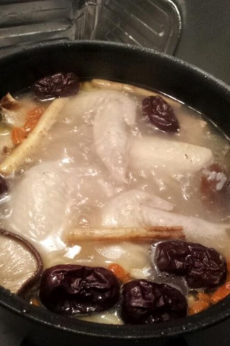 Super Simple & Authentic Chicken Ginseng Soup