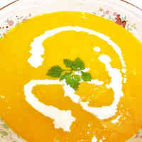 Recommended For Summer Fatique, Chilled Kabocha Squash Soup
