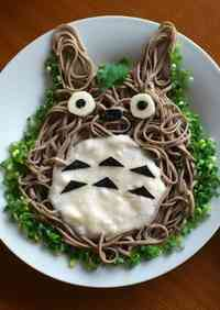 Chilled Totoro Soba Noodles with Grated Yam