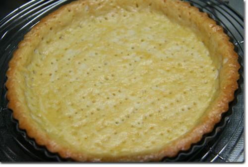 Tart Crust (Pâte Sucrée)