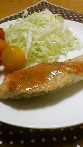 Salmon Meunière with Lemon Butter Sauce