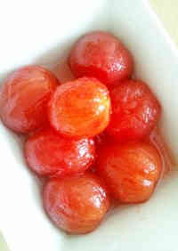 Honey & Lemon Marinated Cherry Tomatoes