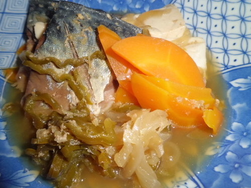 Easy and Simple Mackerel Sukiyaki