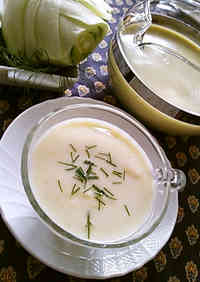 Vichyssoise with Fennel