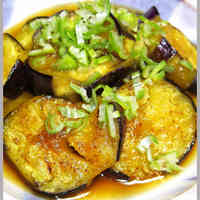 Eggplants in Nanban Style Stir-fry