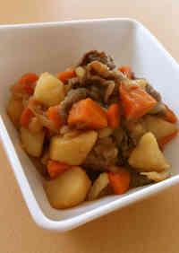 Our Family Recipe for Nikujaga (Simmered Meat and Potatoes)