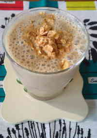 Soy Milk Banana Coffee Smoothie
