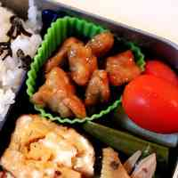 Easy Teriyaki Chicken For Your Lunch Box or A Cherry Blossom Party