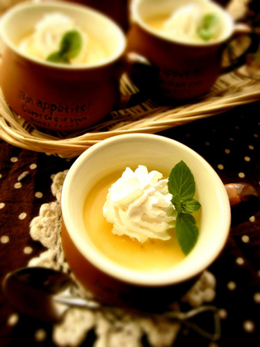 Simple & Rich Pumpkin Pudding