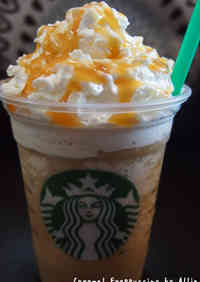 Starbucks-style Caramel Frappuccino