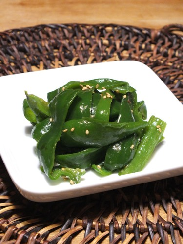 Green Pepper Namul