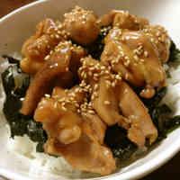 Super Delicious, Simple Yakitori Rice Bowl
