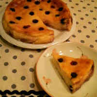 Simple☆Blueberry Cheesecake